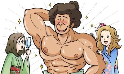 こんなに毛が多いのに脱毛?毛深いからこそ処理を怠らない脱毛侍見参!