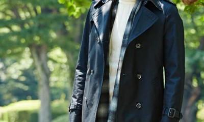 今年のトレンチコートはこう着る!おすすめのメンズトレンチコート着こなし術